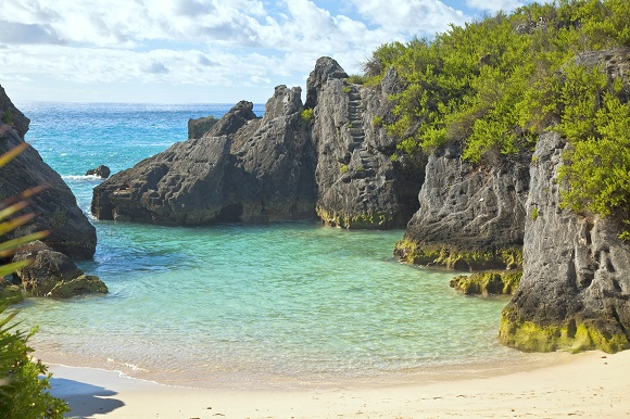 Jobson Cove in Bermuda
