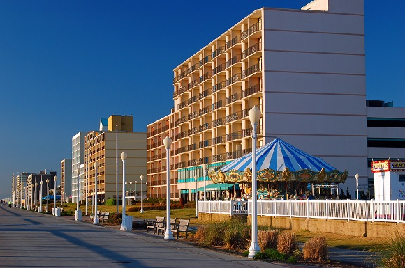Virginia Beach boardwalk