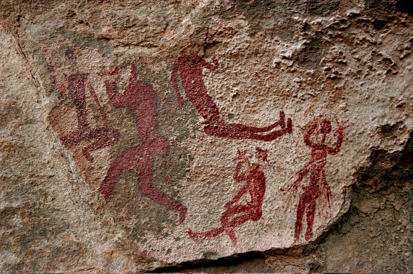 Cave Paintings in South Africa