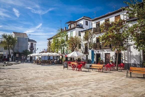 Street in Granada, Spain