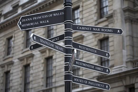 London- Diana Memorial Walk