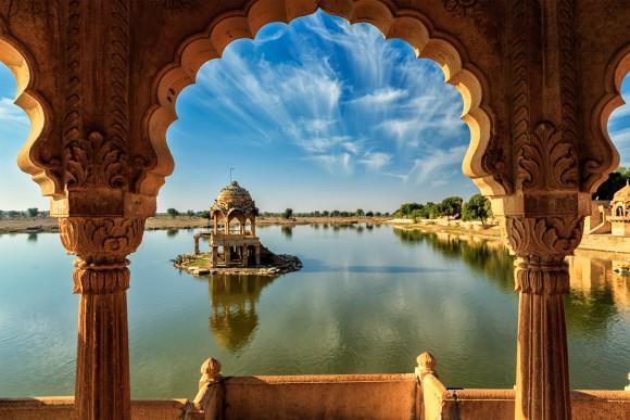 India - lake