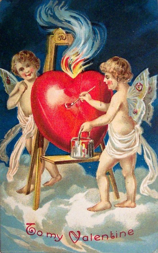 Valentine card 1909