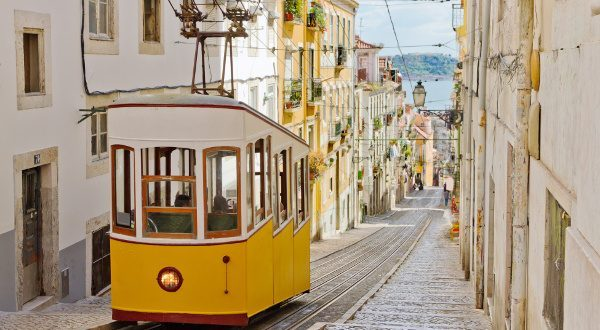 best thing to do in lisbon: Bairro Alto and tramway