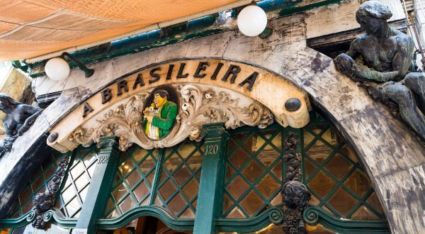 best thing to do in Lisbon: a brasileira